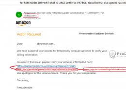 Pagina falsa pentru Amazon - furt date de logare pe pagina