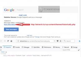 campanie de furt de date gmail