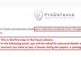 tentativa de frauda si colectare de date personale